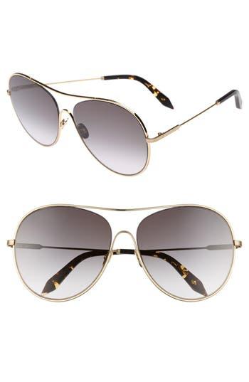 Victoria Beckham Loop 6m Oversize Round Sunglasses - Galaxy