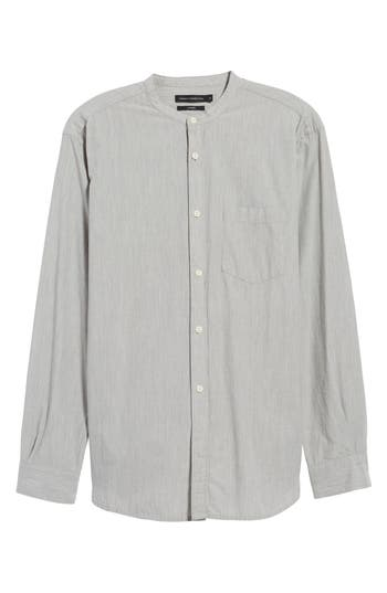 Men's French Connection Regular Fit Band Collar Shirt