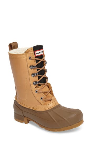 Hunter Original Insulated Boot, Brown