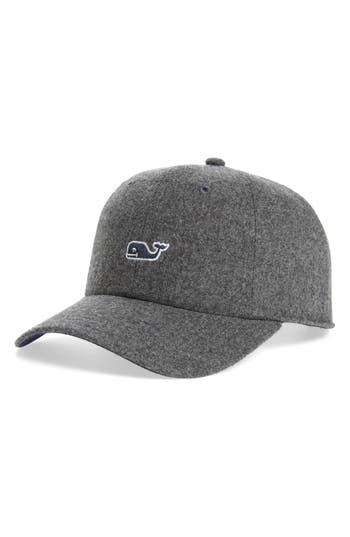 Men's Vineyard Vines Wool Blend Baseball Cap - Grey