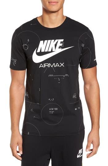 Nike Nsw Air Max 2 T-Shirt, Black