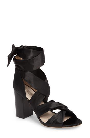 Women's Raye Myra Lace Up Sandal, Size 5.5 M - Black