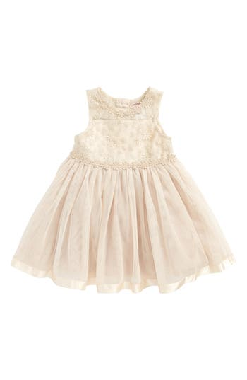 Infant Girl's Nanette Lepore Lace & Tulle Dress