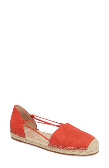 Women's Eileen Fisher Lee Espadrille Flat, Size 9 M - Orange
