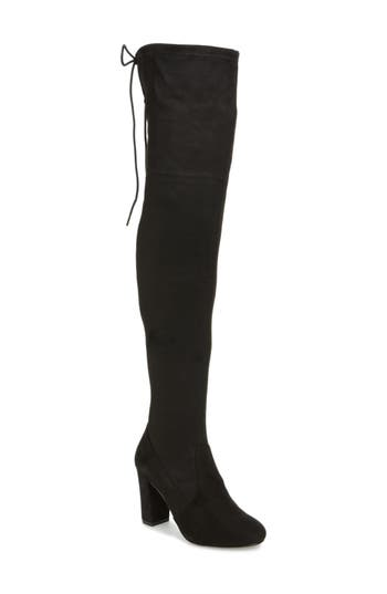 Chinese Laundry Brinna Over The Knee Boot- Black