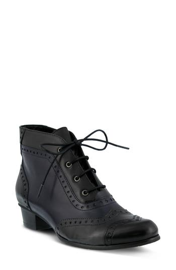 Retro Boots, Granny Boots, 70s Boots Womens Spring Step Heroic Bootie $179.95 AT vintagedancer.com