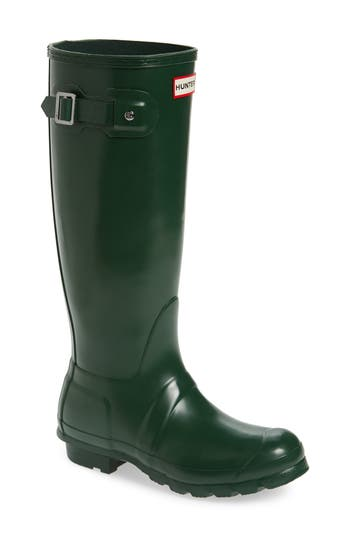 Hunter Original High Gloss Boot, Green