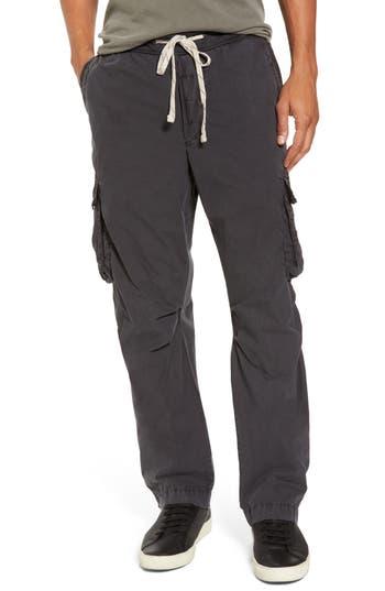 James Perse Contrast Waist Cargo Pants, Grey