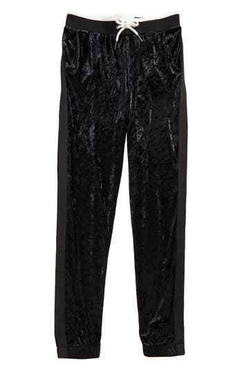 Girl's Maddie Velour Track Pants