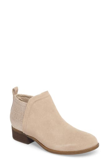 Women's Toms Deia Zip Bootie, Size 5 M - Brown