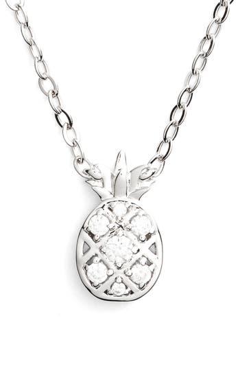 Women's Nadri Reminisce Cubic Zirconia Pineapple Pendant Necklace