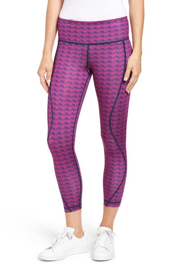 Vineyard Vines ETCHED WHALE TAIL PERFORMANCE LEGGINGS
