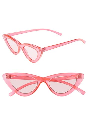 Le Specs X Adam Selman Last Lolita 4m Cat Eye Sunglasses - Hot Pink