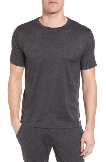 Vuori Strato Slim Fit Crewneck T-Shirt, Grey