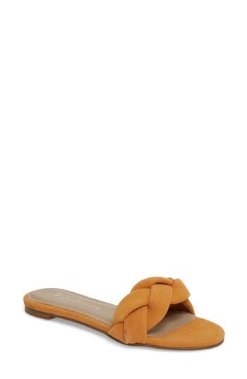 Matisse Georgie Slide Sandal, Yellow