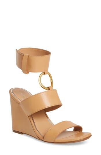Linea Paolo Eva Wedge Sandal- Pink