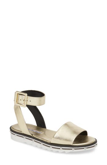 Charles David Shimmy Sandal, Metallic