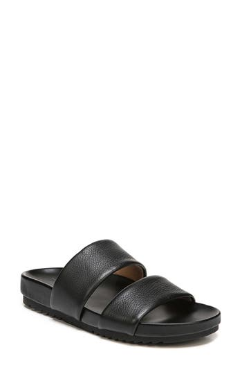 Women's Naturalizer Amabella Slide Sandal, Size 5 M - Black