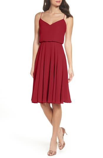 Jenny Yoo SIENNA CHIFFON DRESS