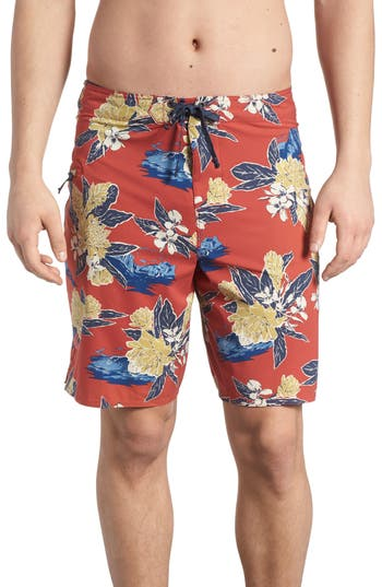 Patagonia Stretch Planing Board Shorts, Red