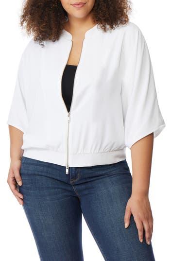 Plus Size Rebel Wilson X Angels Dolman Sleeve Jacket, White