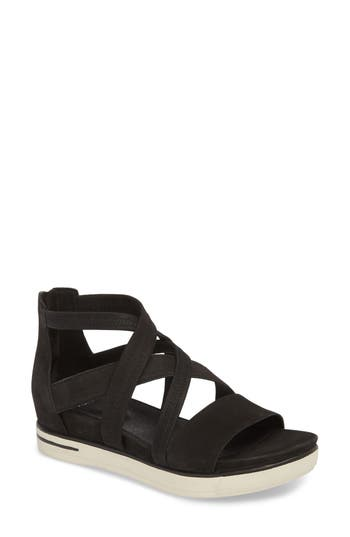 Eileen Fisher Skill Strappy Sandal, Black