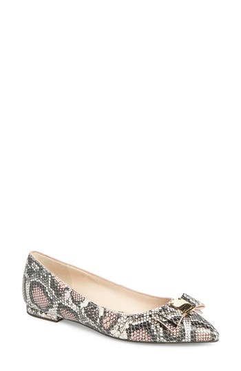 Cole Haan Tali Bow Skimmer Flat, Pink