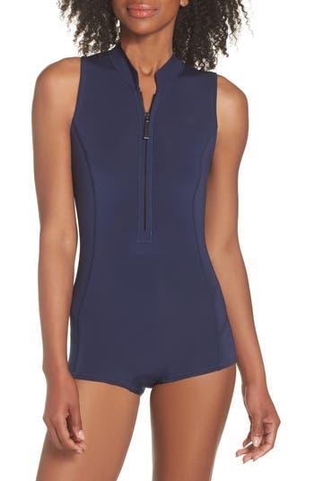 Patagonia Spring Juanita Zip Front Swimsuit, Purple