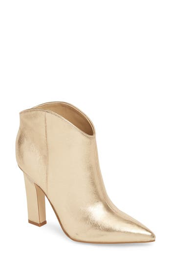 Marc Fisher Ltd Miggi Bootie, Metallic
