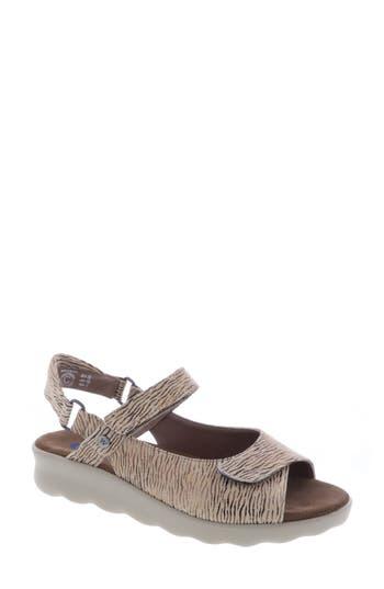 Women's Wolky Pichu Quarter Strap Sandal, Size 6-6.5US / 37EU - Beige