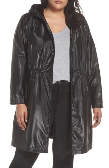 Plus Size Bernardo Metallic Rain Jacket, Metallic
