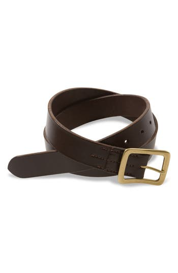 Red Wing Leather Belt, Dark Brown English Bridle