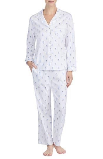 Eileen West Knit Pajamas, White