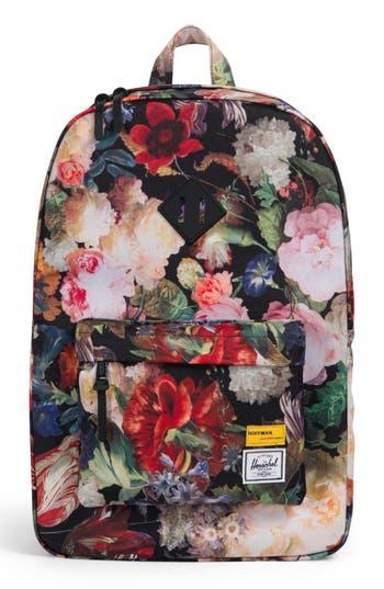 Herschel Supply Co. Heritage Hoffman Backpack - Black