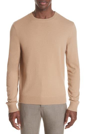 A.p.c. Merino Wool Crewneck Sweater, Brown