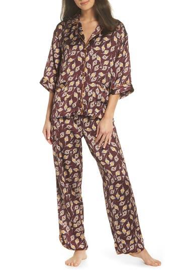 Chelsea28 Ella Pajamas, Burgundy