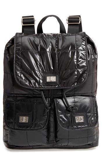 Nyc Underground Puffer Backpack - Black