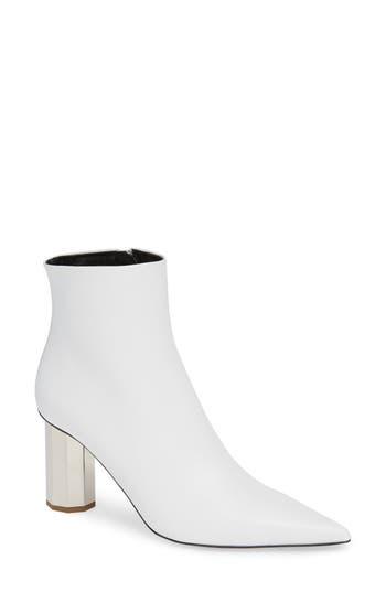 Proenza Schouler Galvanic Heel Bootie, White