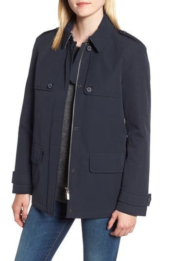 Barbour Rothesay Waterproof Jacket, US / 8 UK - Blue