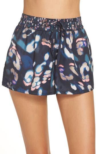 Palindrome Katze Pajama Shorts, Blue