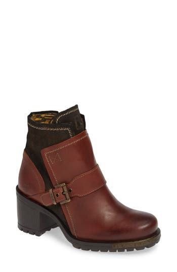Fly London Labe Bootie - Brown