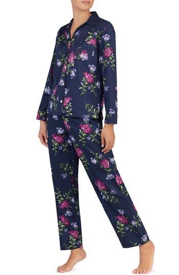 Lauren Ralph Lauren Floral Pajamas, Blue