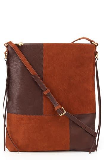 Vintage & Retro Handbags, Purses, Wallets, Bags Hobo Fusion Patchwork Leather Crossbody Bag - $248.00 AT vintagedancer.com