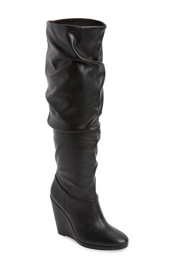 Charles By Charles David Holly Wedge Boot, Black