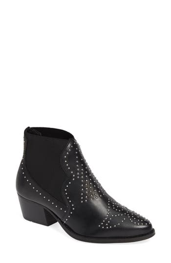 Charles By Charles David Zach Studded Bootie, Black