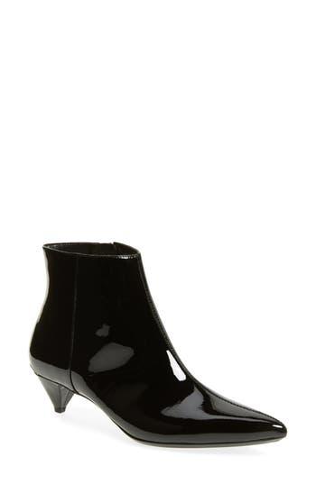 Calvin Klein Larissa Kitten Heel Bootie, Black