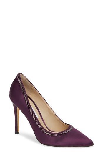 Nina Deedra Beaded Pump, Purple