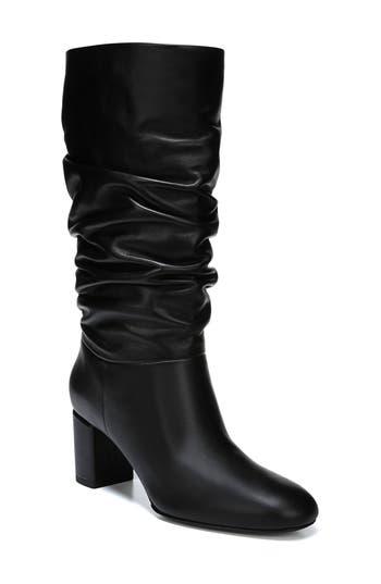 Via Spiga V-Naren Slouchy Boot, Black