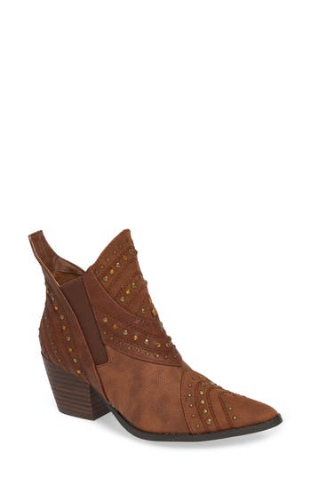 Coconuts By Matisse Storm Western Bootie, Brown
