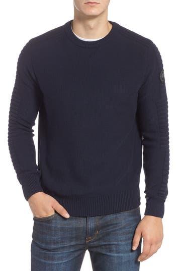 Canada Goose Paterson Regular Fit Merino Sweater, Blue